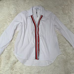 NWT Button Down with Stripe